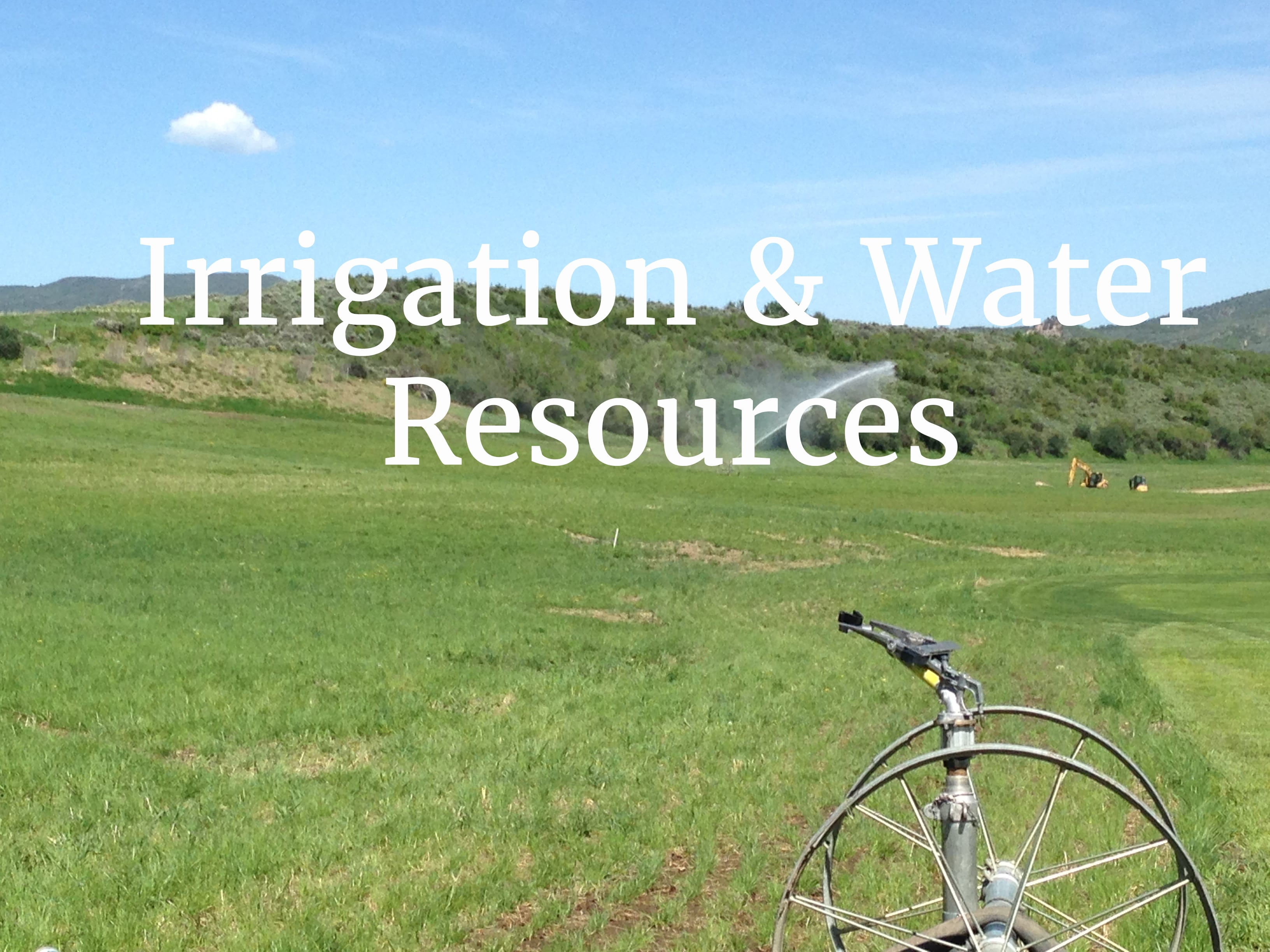 Western Heritage Consulting & Engineering - Irrigation System Design Engineering